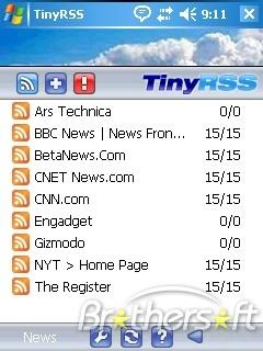TinyRSS(Ücretsiz RSS Okuyucu)