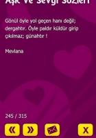 Aşk ve Sevgi Sözleri