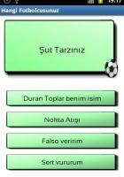 Hangi Futbolcusunuz