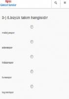 KPSS Cografya Sorular