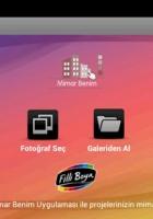 Mimar Benim Android Uygulaması