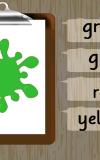 Çocuk Renkler öğrenin