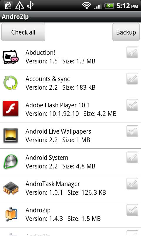 how to make a zip file on android