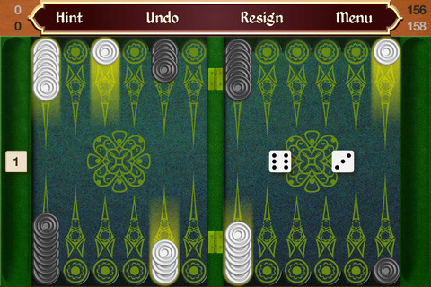 Backgammon Touch