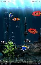 Aquarium Free Live Wallpaper -4