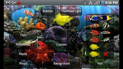 Aquarium Free Live Wallpaper -5