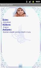 Müslüman Bebek İsimleri -4