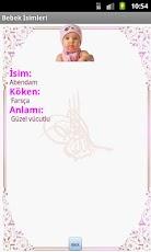Müslüman Bebek İsimleri -6