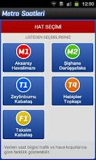 Metro Saatleri -2