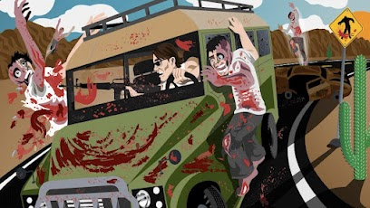 Drive with Zombies 3D -2