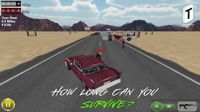 Drive with Zombies 3D -3
