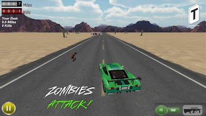 Drive with Zombies 3D -4