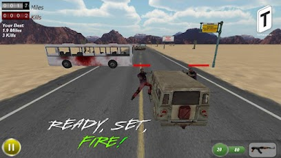 Drive with Zombies 3D -5