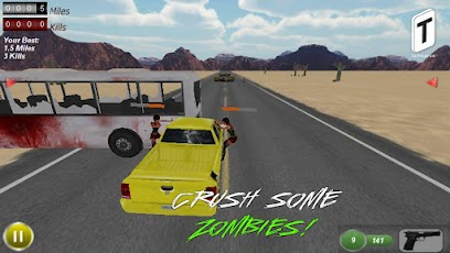 Drive with Zombies 3D -6
