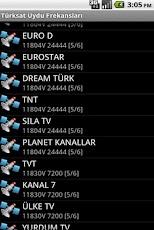 Türksat Uydu Frekansları -3