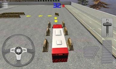Bus Parking 3D -3