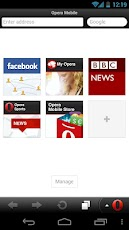Opera Mobile web browser -2
