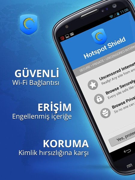 Hotspot shield vpn for android apk indir
